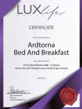 HotelsCombined Recognition of Excellence for 2018 in the UK